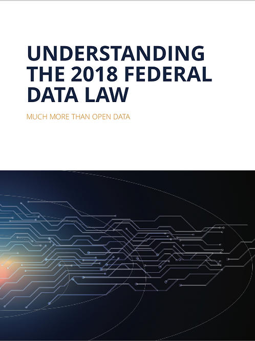 Understanding the 2018 Federal Data Law