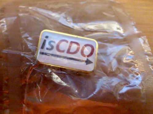 isCDO Lapel Pin
