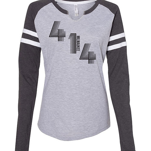 414 Game Day Tee - Gray