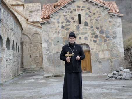 An Albano-Udi Preacher (Self?)Appointed to the Armenian Dadivank Monastery