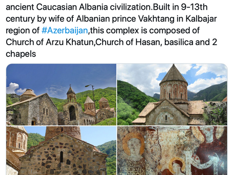 "Karimov Appropriates Dadivank Monastery as ""Albanian"""