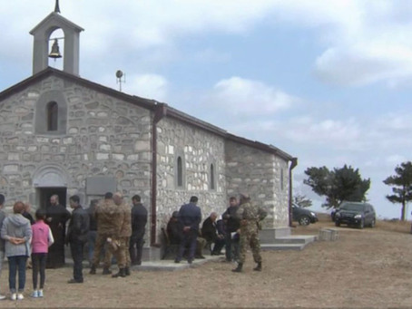 Azerbaijan Destroys Zoravor Surb Astvatsatsin Church in Mekhakavan