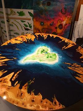 L'île de coeur