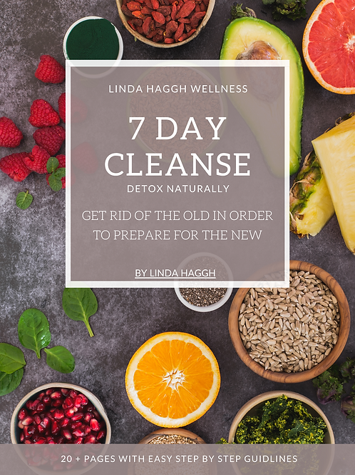 7 DAY CLEANSE- ENGLISH