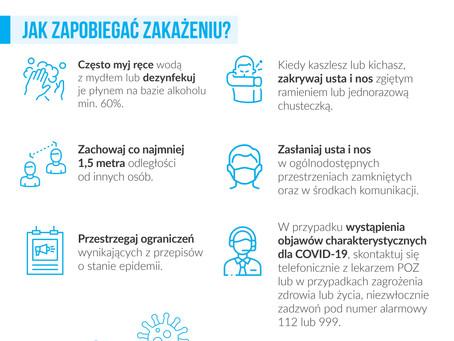 Zasady odbywania kwarantanny w związku z koronawirusem