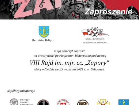 Zaproszenie do udziału w Rajdzie Zapory