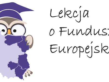 """Lekcja o Funduszach Europejskich VI"""