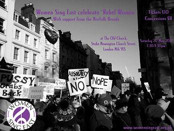 Women_Sing_East_celebrate_'Rebel_Women'_