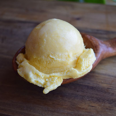 Kabocha Squash & Whiskey Ice Cream