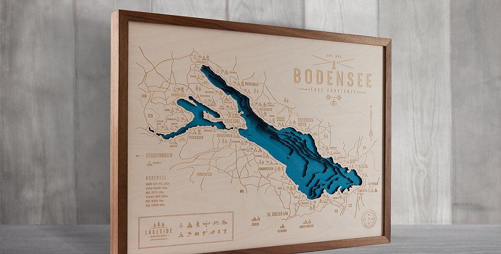 BODENSEE / LAKE CONSTANCE - NUSSBAUM (A4 bis A1)