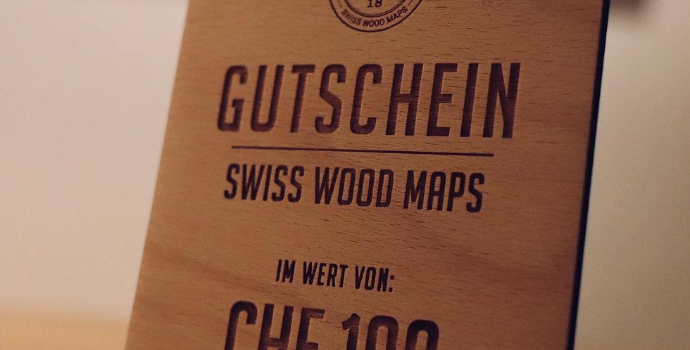 GUTSCHEIN - SWISS WOOD MAPS