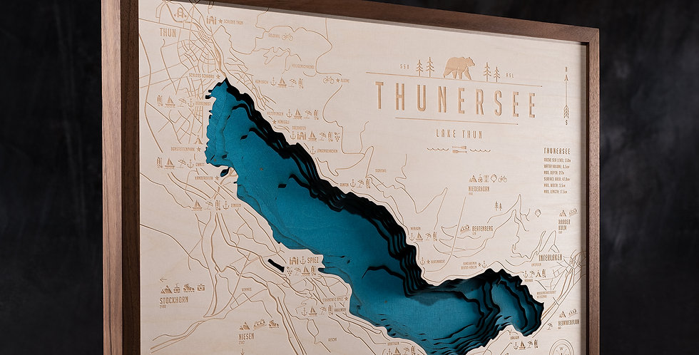 THUNERSEE - NUSSBAUM (A4 bis A1)