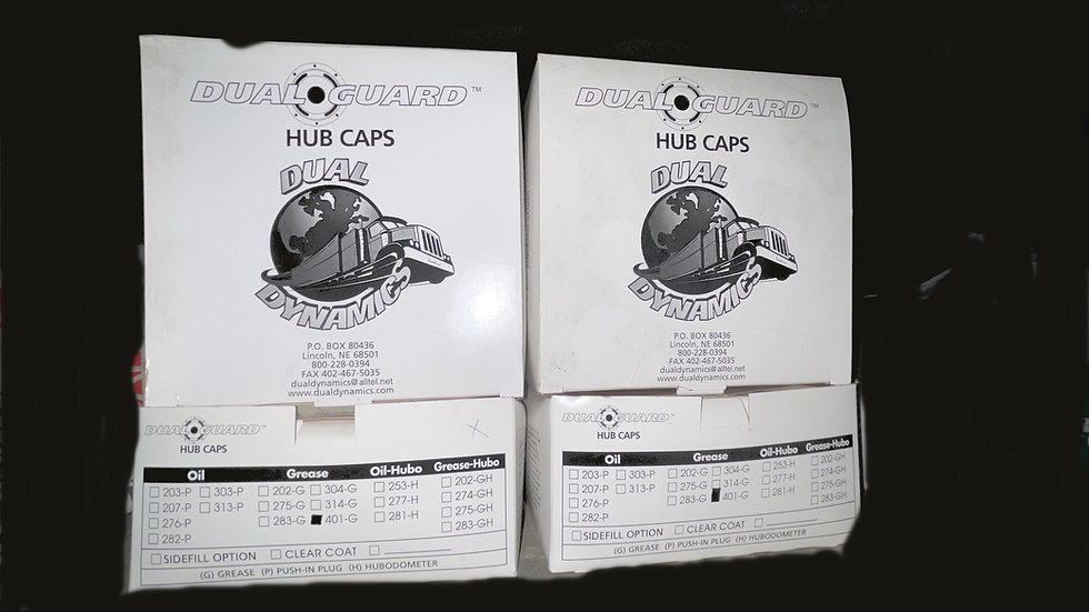 Dual Dynamics Hub Caps