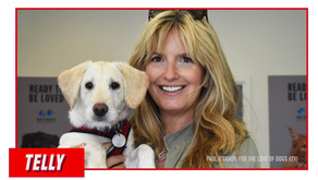 'Puppy Love' for Penny Lancaster and Rod Stewart as they rescue 'Blondie'
