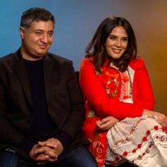 Tabrez Noorani and Richa Chadha