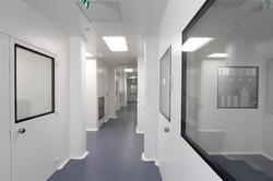 - תיקון עולם חדרים נקיים מסדרון אגף ייצור קאנאביס
