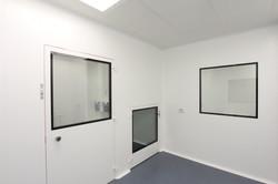 תיקון עולם חדר נקי באגף ייצור + תא מעבר חומרים