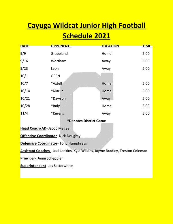 Jr High 2021 Football Schedule- REVISED-070721.jpg