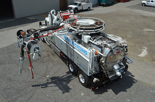 GapVax Recycler Truck