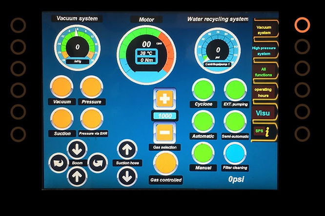 GapVax Recycler Control Panel