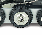 Soft Rubber Quick Release Wheels