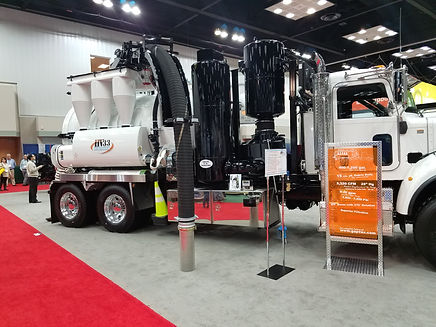 GapVax HV-Series Hydro Excavation Units