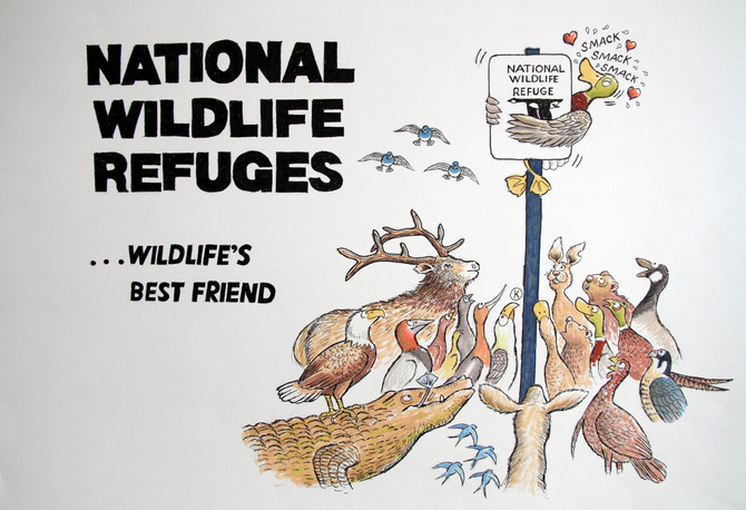 In the news: link to an article about National Wildlife Refuges