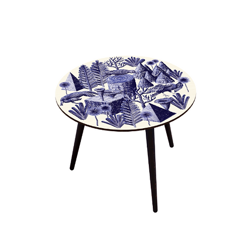 TABLE BOCAGE BELETTE INDIGO XL
