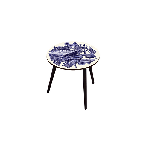 TABLE BOCAGE BELETTE INDIGO M