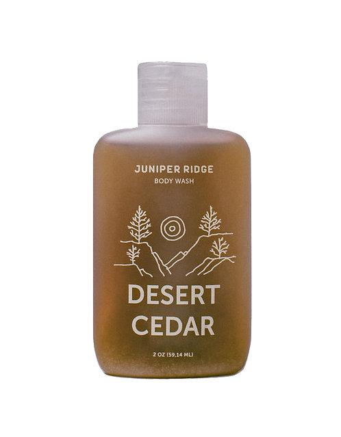GEL DOUCHE DESERT CEDAR format voyage