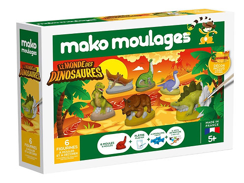 MAKO MOULAGES DINOSAURES