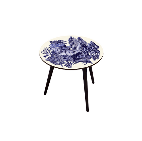 TABLE BOCAGE BELETTE INDIGO L