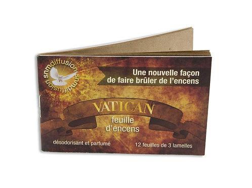 BUVARD PARFUME VATICAN