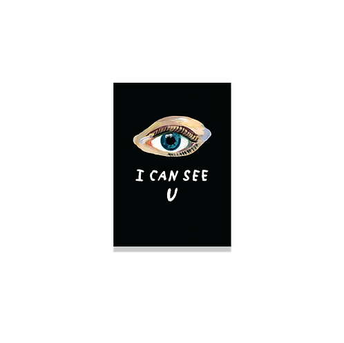 CAHIER I CAN SEE YOU