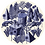 Thumbnail: GUERIDON BOCAGE BELETTE INDIGO XL