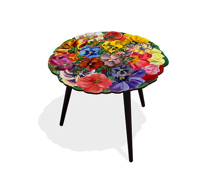TABLE FRENCH BOUQUET ROND