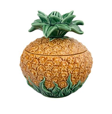 terrine barbotine ananas bazartherapy bordallo pinheiro