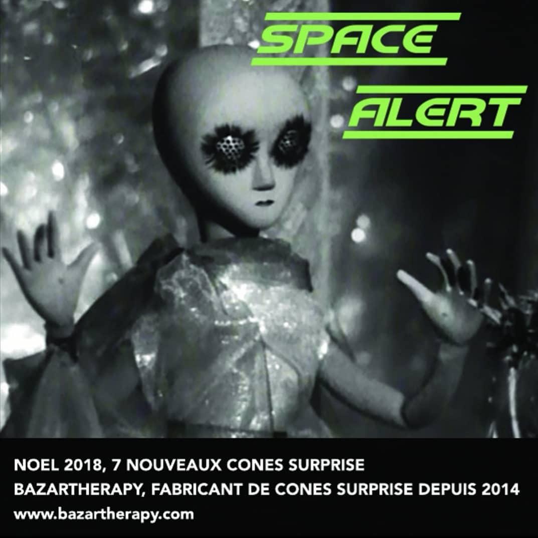 CONE SURPRISE SPACE ALERT