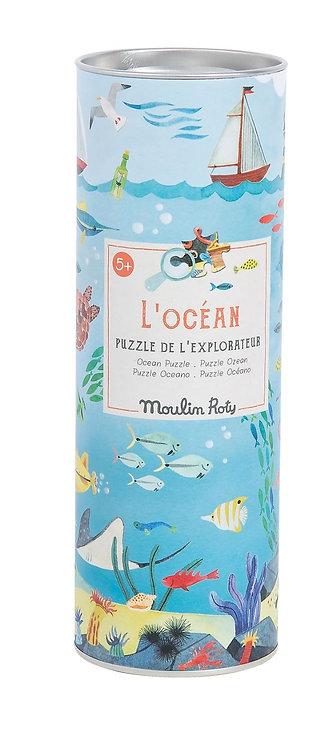 PUZZLE L'OCEAN 96 PCES