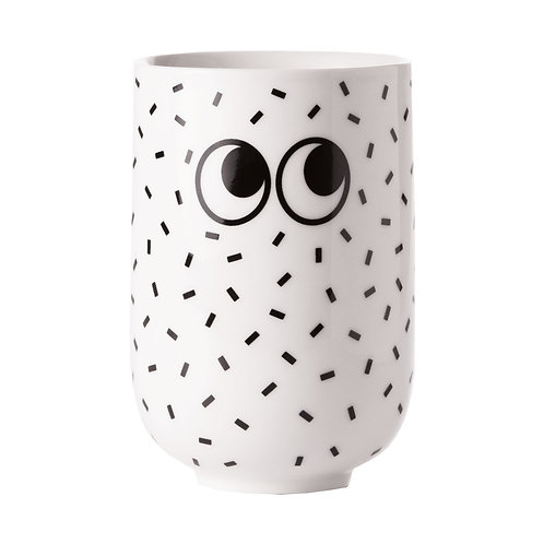 MUG GOOGLY EYES BLANC