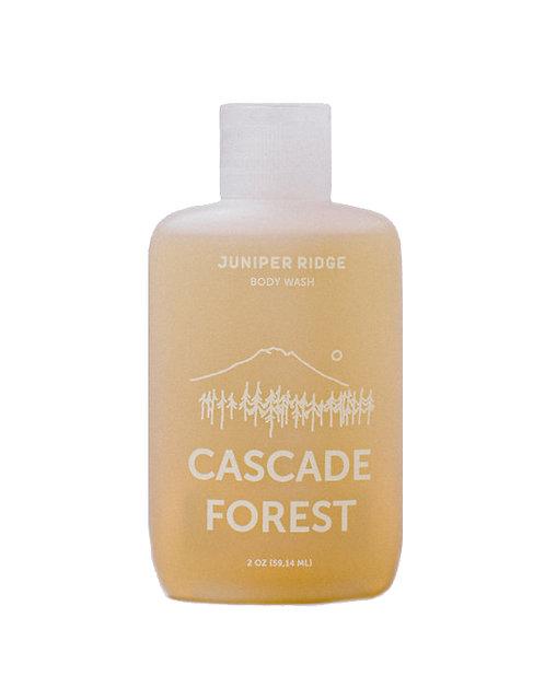 GEL DOUCHE CASCADE FOREST format voyage
