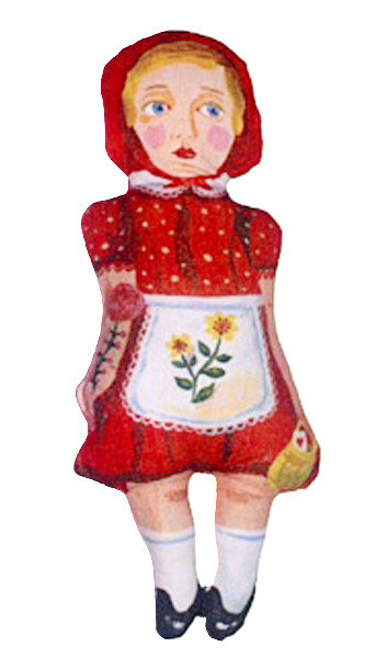 POUPEE LITTLE RED RIDING HOOD