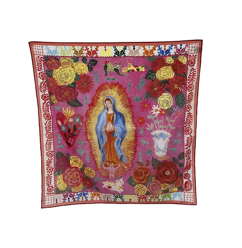 FOULARD LADY OF GUADALUPE