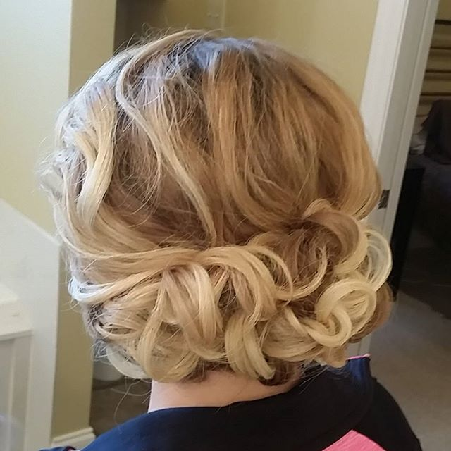 #hairbypaigeb #bridesmaidhair #hair #updo