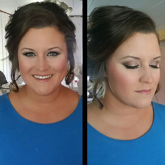 Had the honor of doing my future sister-in-laws makeup today for a wedding!! No filter! The natural
