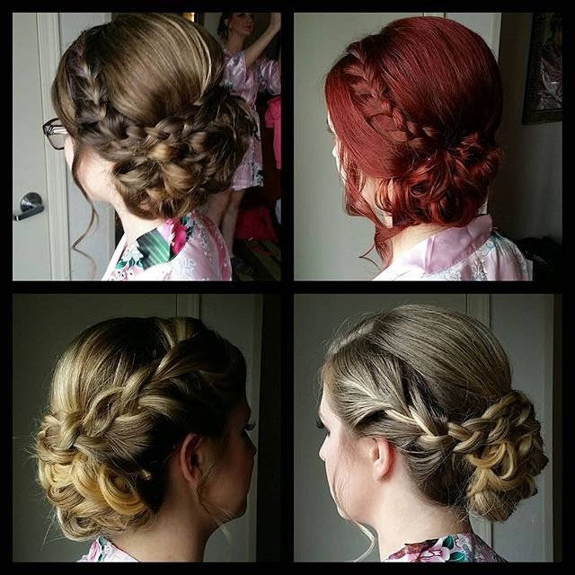 #hairbypaigeb #bridesmaidhair #updo