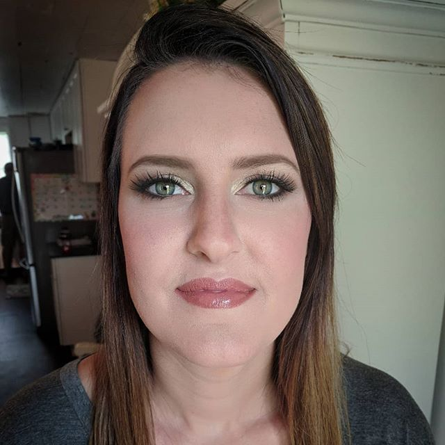 This gorgeous women is makeup ready for