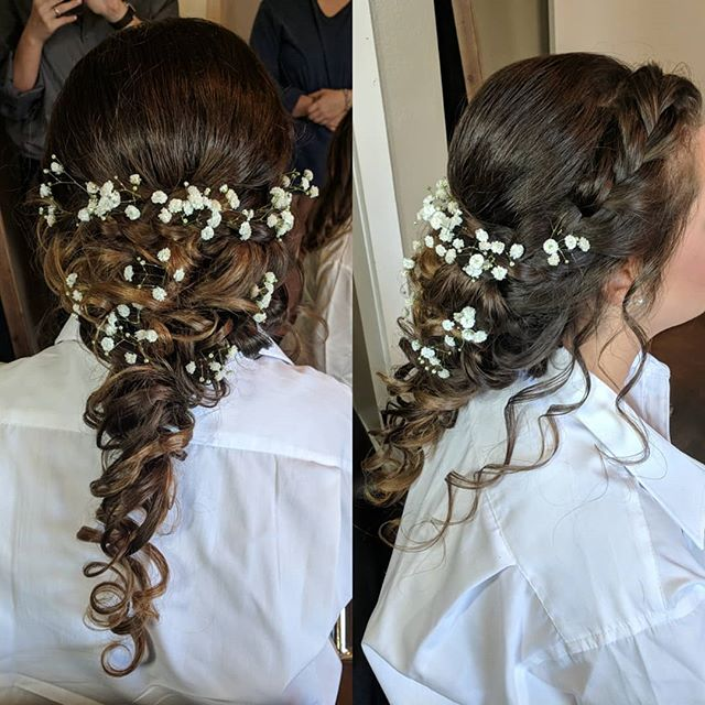 Loved my bride's hair today!!_._._