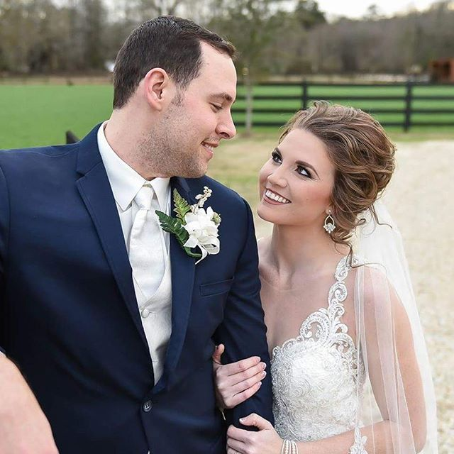 Our absolutely gorgeous bride from yesterday!!! She was breathtaking!! Congratulations Cole and Hail
