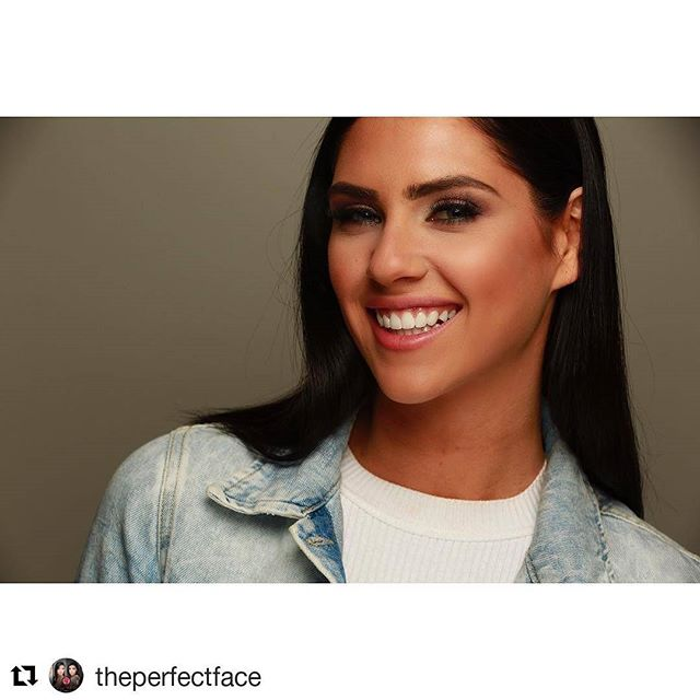 My Girl!! LOVE her!! #Repost _theperfectface_・・・__missmausa smiling before the final show